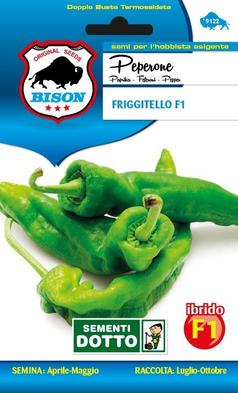 Friariello sementi orta 10 Semi di Peperoncino Friggitello Napoletano orto