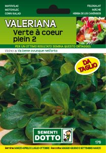 Valeriana Verte a Coeur Plein
