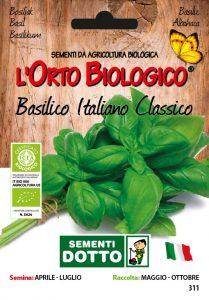 Basilico Italiano Classico