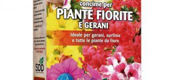 CONCIME GRANULARE PIANTE FIORITE GERANI OPTIMUS