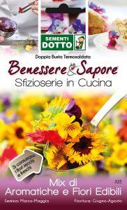 Mix aromatiche e fiori edibili