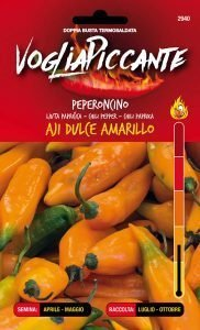 Peperoncino Aji Dulce Amarillo
