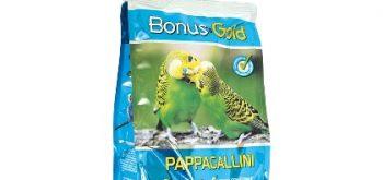 Bonus Gold Mangime per Pappagallini