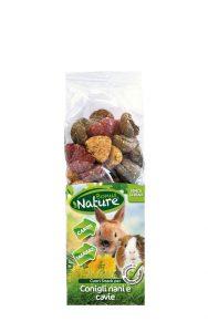 Cuori Snack per Conigli Nani e Cavie - carote e tarassaco