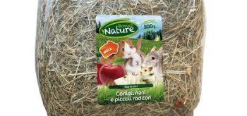 Fieno e Mela per Conigli Nani e Piccoli Roditori Bonus Nature