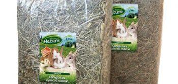 Fieno per Conigli Nani e Piccoli Roditori Bonus Nature