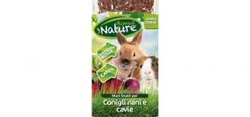 Maxi Snack per Conigli Nani e Cavie Bonus Nature