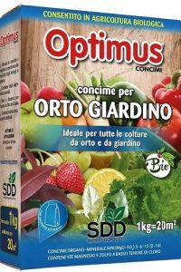 concime per orto e giardino optimus